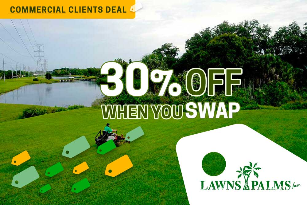 Landscaping Company in Belleair Bluffs, FL Offers HUGE Discount