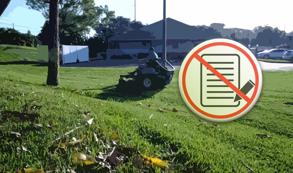 No contract lawn care in pinellas
